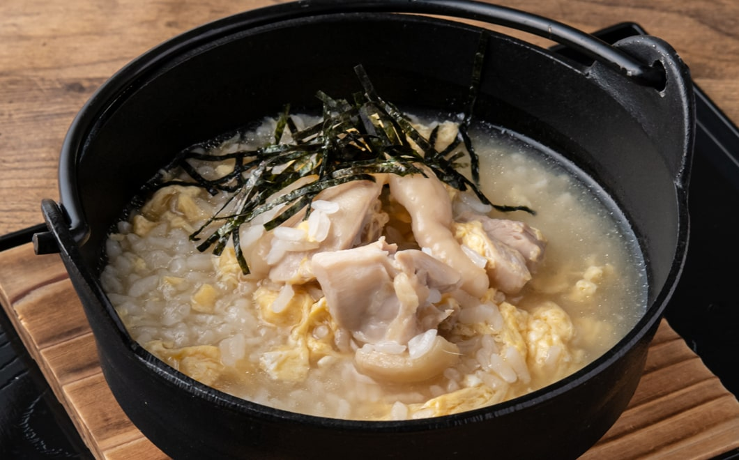 京地鶏雑炊